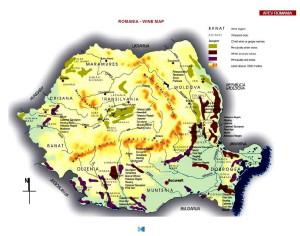 Harta Vinului